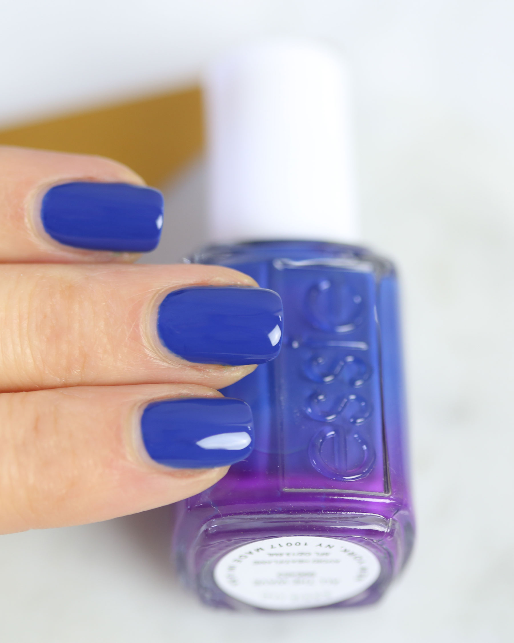 Essie Spring 2017 Swatches All The Wave Blue Nails