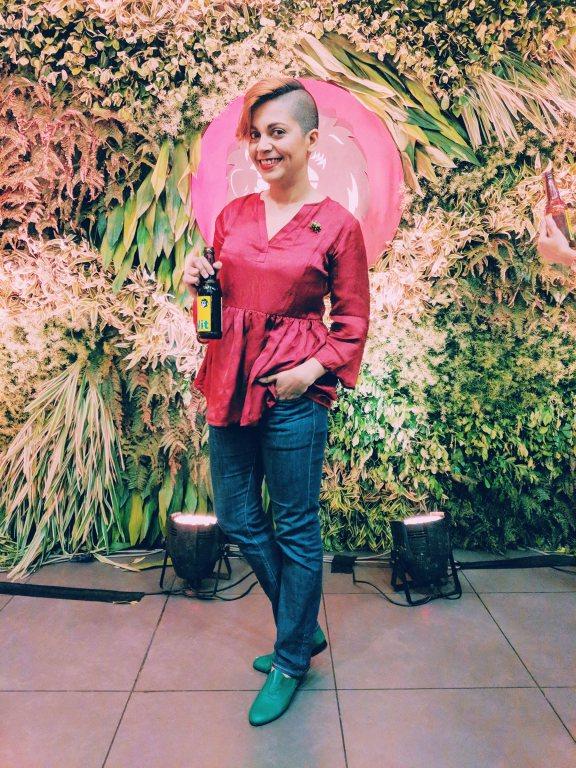 madhurima singh, dhuri, shopdhuri, dhuri label, madeinindia, nainaxstyle, naina style edition 110, coverup, sustainable fashion, slow fashion, style, garments, cotton, bamboo, eucalyptus, chanderi silk, crop top, spectral crop top, jacket, festive, indian wear, formal, naina redhu, naina.co, naina, eyesforfashion, indian fashion, personal style, photographer personal style, azo-free dye, vegetable dye, natural fibers, weave, texture, gold