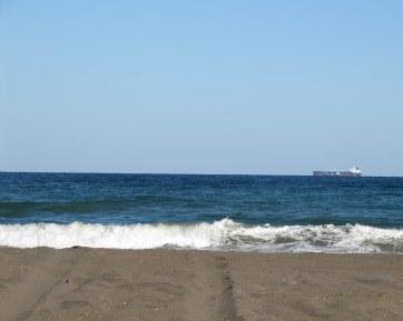 The beach at Kalba