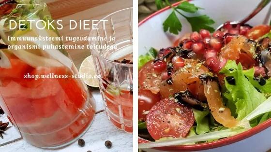Immuunsüsteemi tugevdamine ja detoks dieet. Organismi puhastamine toiduga.
