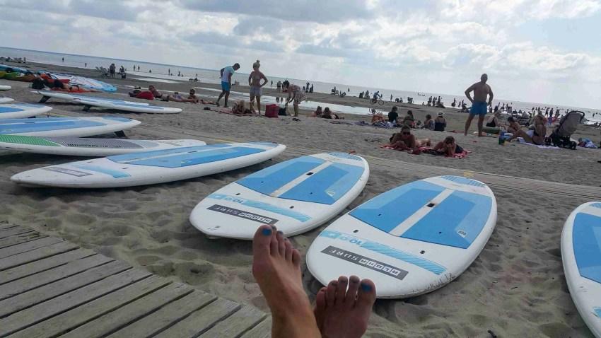 Puhkus 2019, Pärnu rand, surfiklubi Pärnus Naine 50 pluss