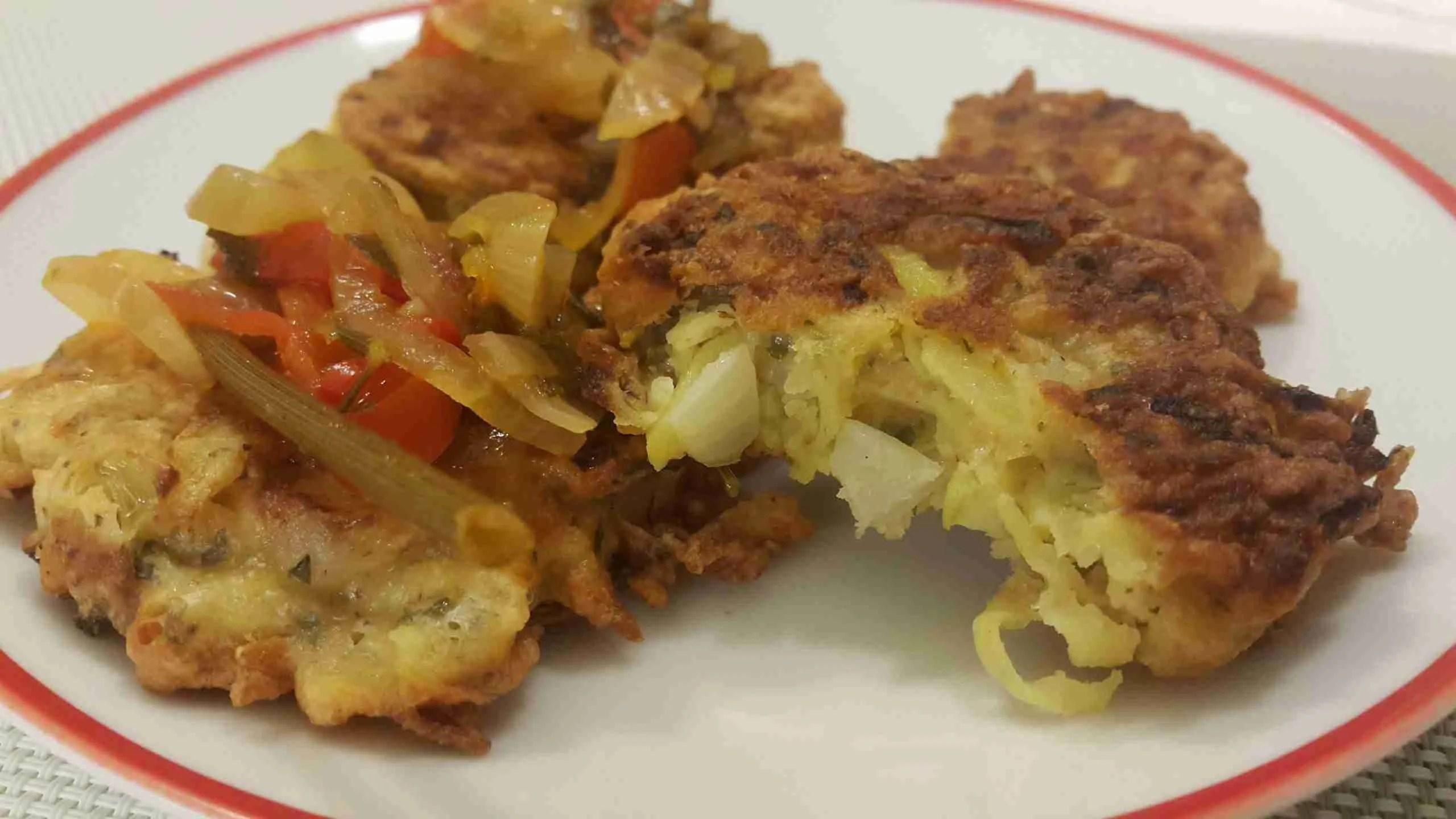Kartuli-juustukroketid. vegan retseptid Hash browns