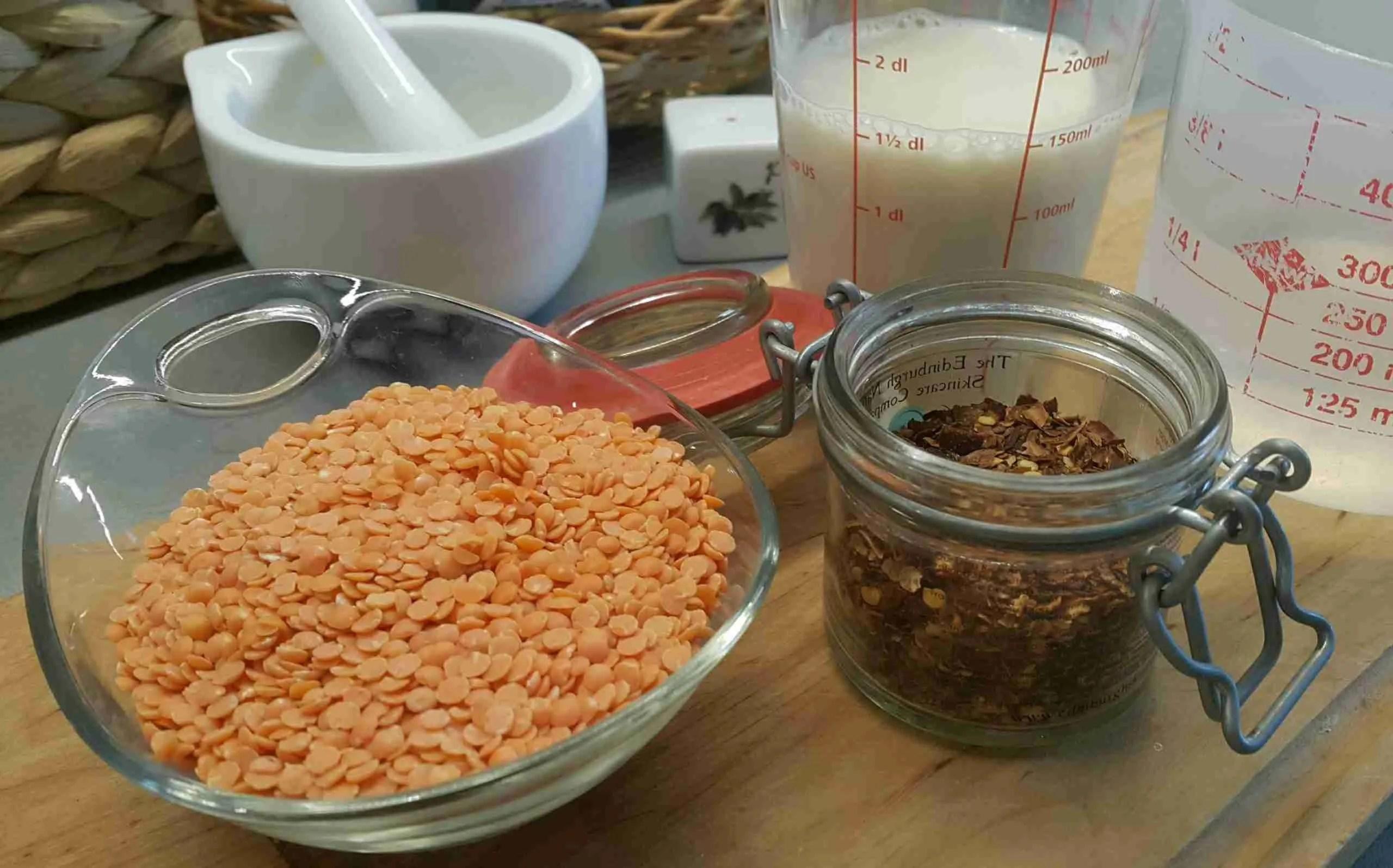 Läätsesupi valmistamine lihtsad supid koostisosad