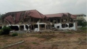 Ghana Will Reconstruct The Nigerian building demolished