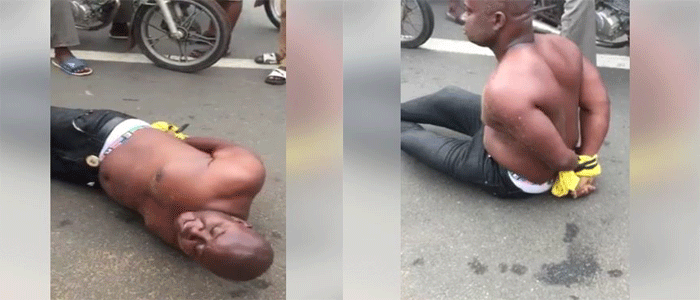 Man Runs Mad Confesses To Money Rituals, Video - NairaLearn