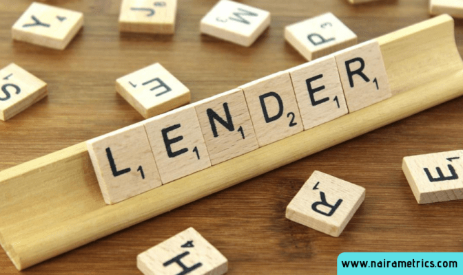 Who is a lender?