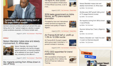 New Businessday Website Looks Like Financial Times FT.COM