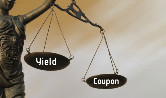 Yield and coupon