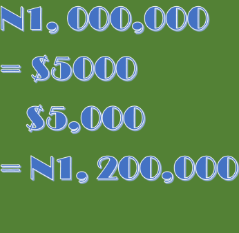 Naira dollar arbitrage