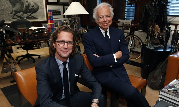 In hs new role as CEO, Stefan Larsson will report to founder Ralph Lauren.