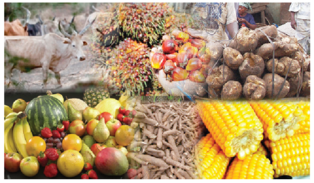Food inflation rate in Nigeria