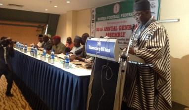 Nigeria Football Federation Proposes N7.2 Billion Budget For 2016