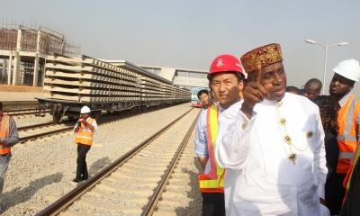 Lagos-Ibadan railway will be completed on or before January 2021 - Rotimi Amaechi , China set to approve $5.3 billion for Ibadan-Kano rail project