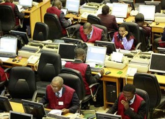 stock exchange - buying and selling