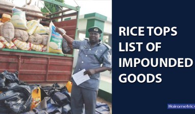 Rice Tops List of Impounded Goods, as NCS Continues to Clamps Down On Smuggled Goods