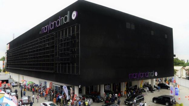 Maryland Mall opened in Lagos' Ikeja suburb in June this year