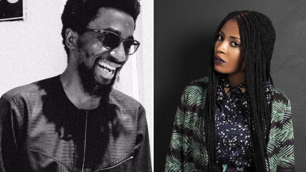 A film by Papa Omotayo (L) and Maki Osakwe (R) has just won an award at the Fashion Film Festival Milano