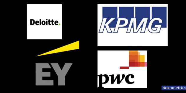 PWC, KPMG, E&Y, Deloitte earn N 6.4 billion in audit fees from Nigeria's biggest companies