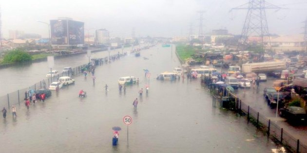 Don't blame government for the flood as only 3% of Lagos residents pay tax, says Ambode