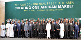 Head of States at African Continental Free Trade Agreement