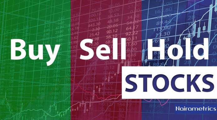 Nigerian stocks, Buy Sell Hold
