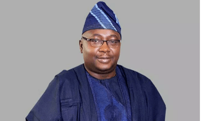 Adebayo Adelabu CBN Deputy Governor, Operations.