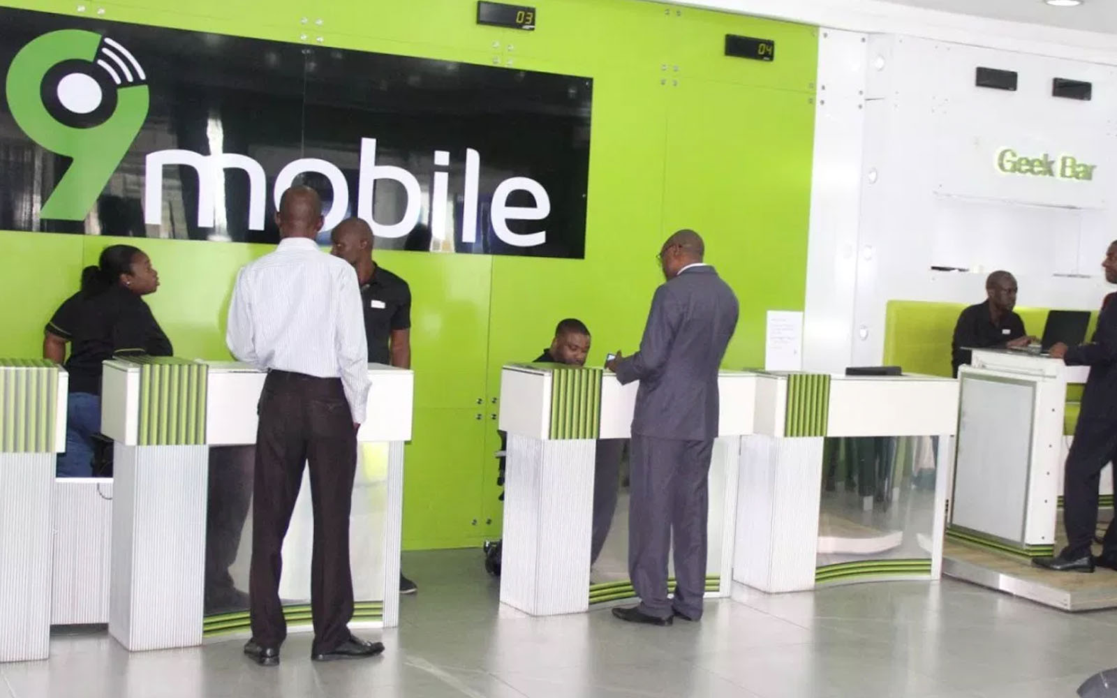 Image result for 9Mobile office