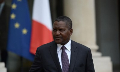 Aliko Dangote, Bloomberg Billionaire Arsenal