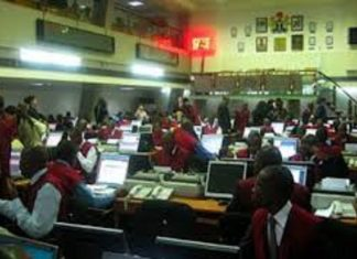 NSE Bonds, CBN, Nigerian bourse down 0.14%, trading volume drops due to NSE's remote trading