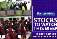Stock to watch this week
