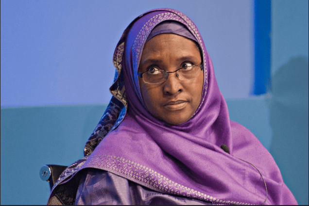 Minister of Financ, Zainab Ahmed