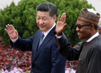 Xi Jinping and Buhari
