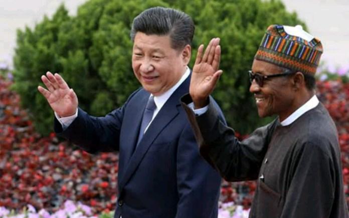 Xi Jinping and Buhari
