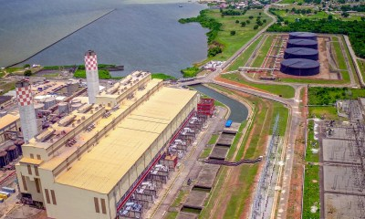 Aerial Shot of Egbin Power Plant