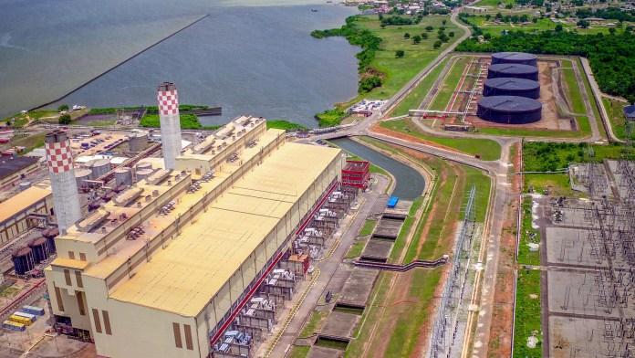 Aerial Shot of Egbin Power Plant