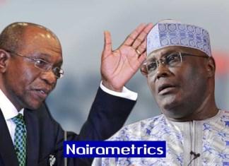 Naira free float, Central Bank of Nigeria, Emefiele replies Atiku, Financial Derivatives Company Limited, Analysts