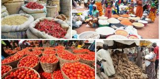 Nigeria's Inflation, Headline inflation jumps to 11.61% in October on border closure