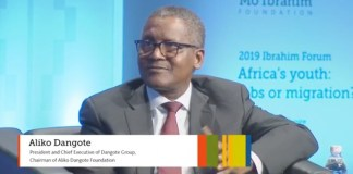 Dangote had to withdraw $10m to confirm he was wealthy