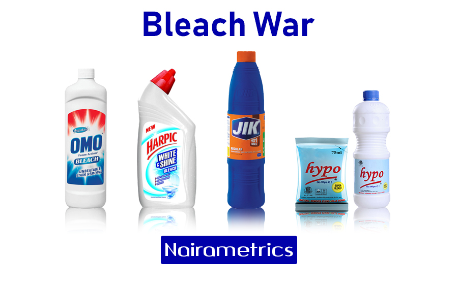Bleach market, Hypo, Harpic products, OMO products, Jik