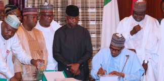 FG signs N8.91 trillion 2019 Budget into law