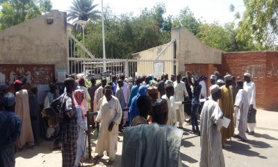 Protesters trap Finance Minister as Nigerian Airways pensioners take fight to Abuja