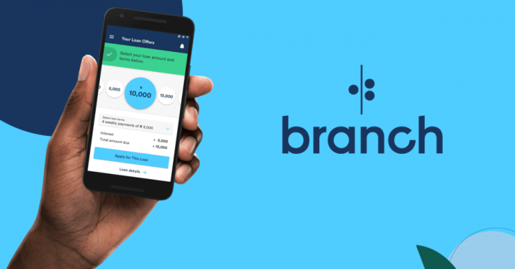 Image result for branch loan app