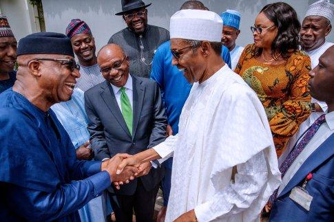 Buhari inaugurates new NEC