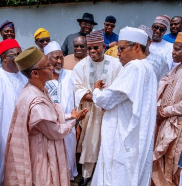 """NEC Inauguration: Buhari tells Governors """"no more bail-outs"""", Bailout Fund: FGbeginsdeduction of N614 billion from states'allocation in 2 weeks, Ekiti, Enugu,Bayelsa, 12 othersattract no investment in 1H, States' debt stock, StatesreceiveN2.53 trillion allocation in 2019"""