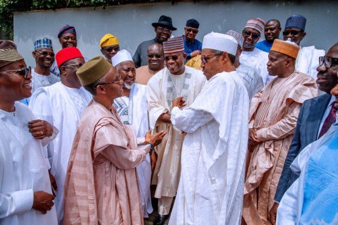 NEC Inauguration: Buhari tells Governors