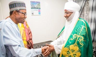 Emir Sanusi and Buhari, CBN, Central Bank of Nigeria