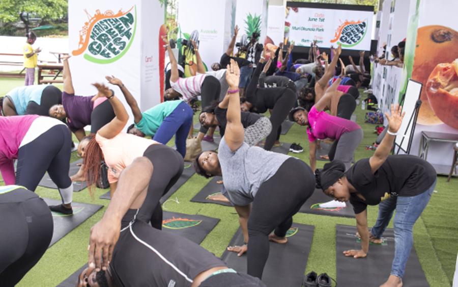 Meristem Green Fest, healthy living festival in Nigeria