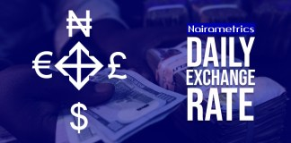 Forex, NIGERIA: Daily Parallel Market Exchange Rate