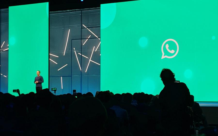 WhatsApp, Facebook