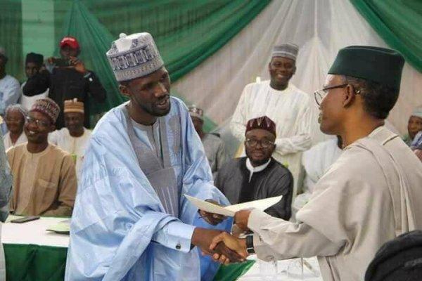 Kaduna State Governor Nasir El-Rufai and Kaduna South Local Government Chairaman, Jarimi Kabeer, Nigeria's 2019 budget